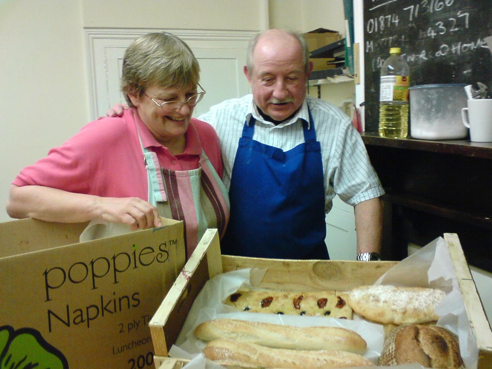 Bread making course Talgarth Mill