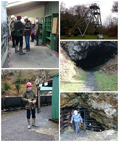 Welsh gold Dolaucothi mine tour