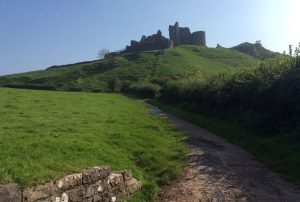 Brecon Beacons Carreg Cennen Castle