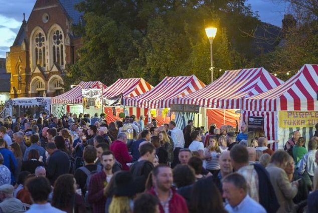 recon Beacons Abergavenny Foood Festival