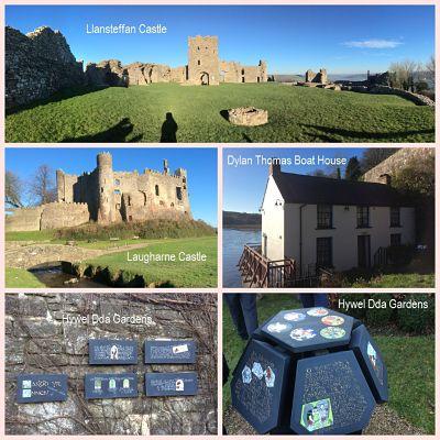 Carmarthenshire Castles & Poets