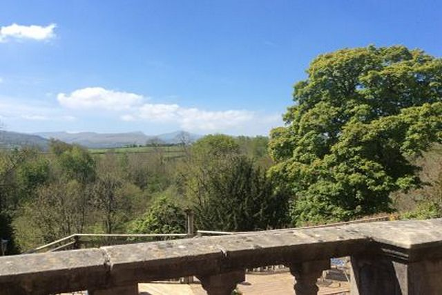 Brecon Beacons Peterstone Court view
