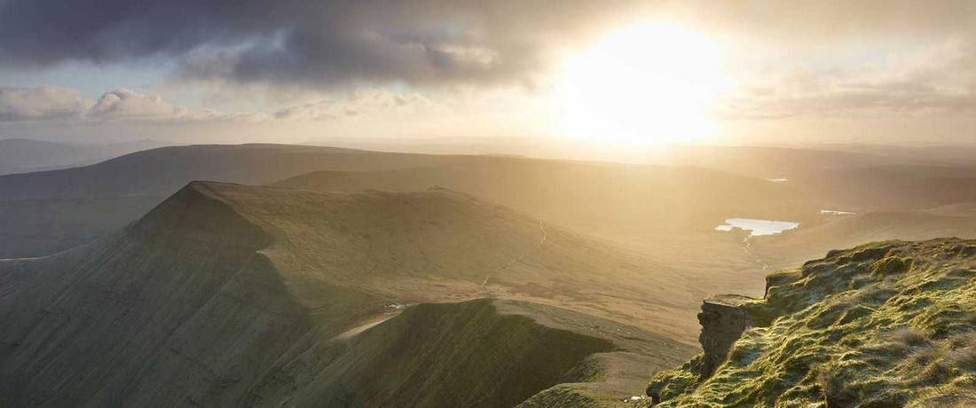 Brecon Beacons sunset