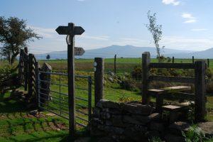 View to Pen Y Fan Brecon Beacons