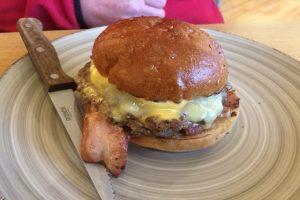 Best Burger Hills Brecon