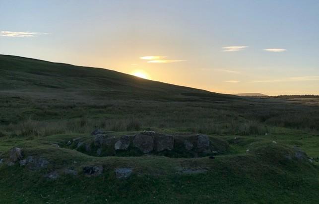 Sunset Brecon Beacons